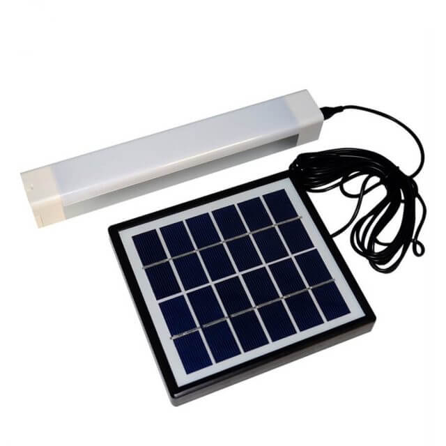 Portable Solar USB Rechargeable Night Lamp