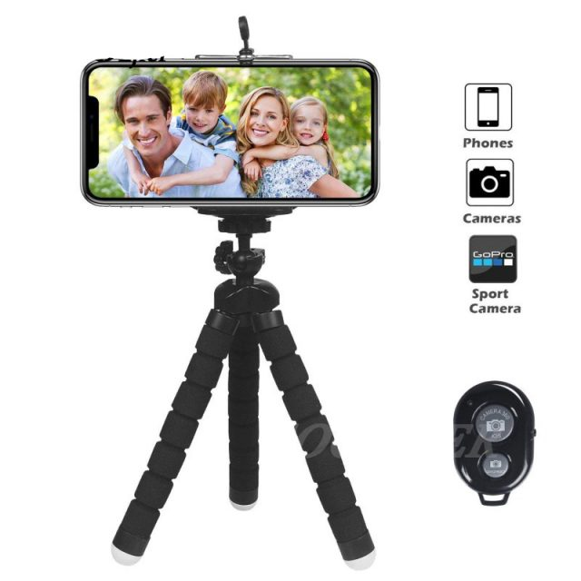 Mini Tripod With Remote Shutter For iPhone
